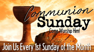 Unity Worship Service - Communion Sunday