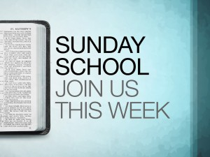 No Sunday School/No Breakfast
